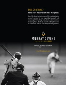 Murray Devine Print Ads